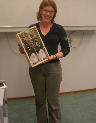 Elske Leenders is the winner of the 'Best Manuscript' prize in WiR 2005
